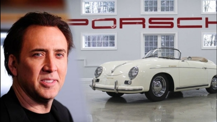 Nicolas Cage, all'asta la sua Porsche 356 Speedster