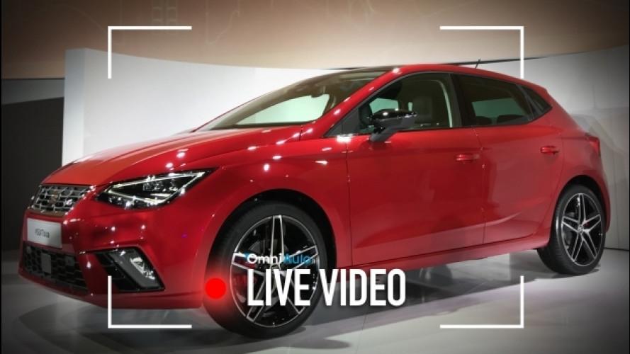 Nuova Seat Ibiza, com'è vista dal vivo [VIDEO]