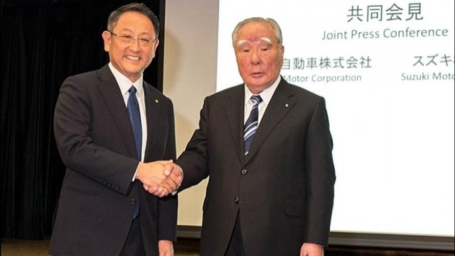 Toyota e Suzuki insieme per l'ambiente