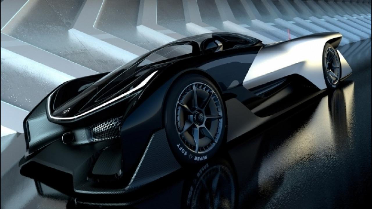 """[Copertina] - Faraday Future, le batterie saranno """"sorelle"""" di quelle su Opel Ampera-e e Renault Zoe"""