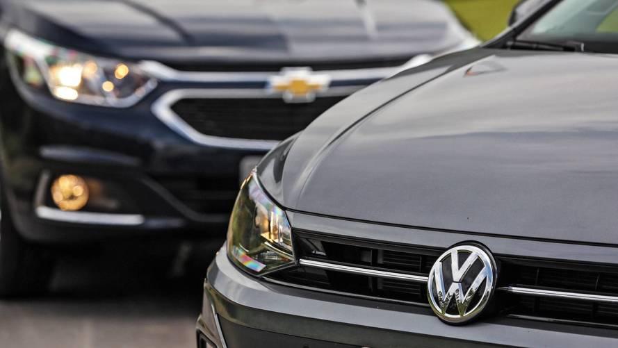 Mercado: Vendas crescem quase 40% sobre 2017 e VW mantém líder GM sob pressão