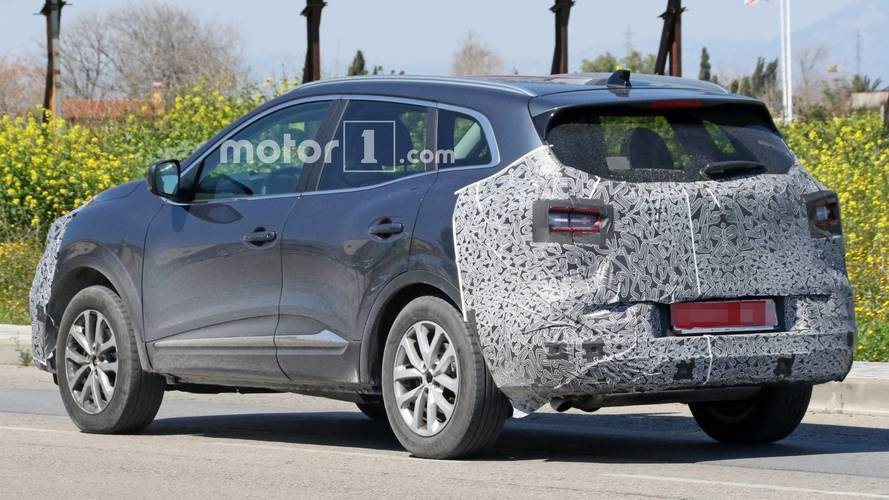 Renault Kadjar Facelift Makes Spy Photo Debut