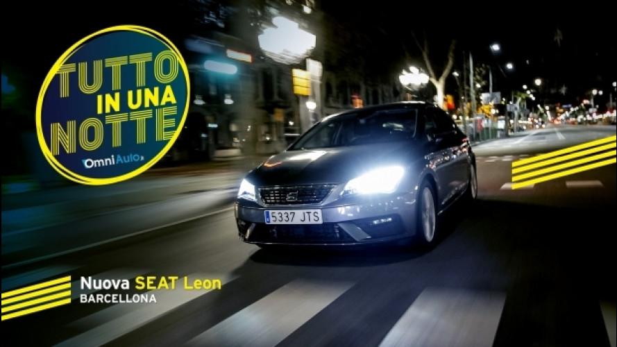Nuova Seat Leon, Barcellona in una notte [VIDEO]