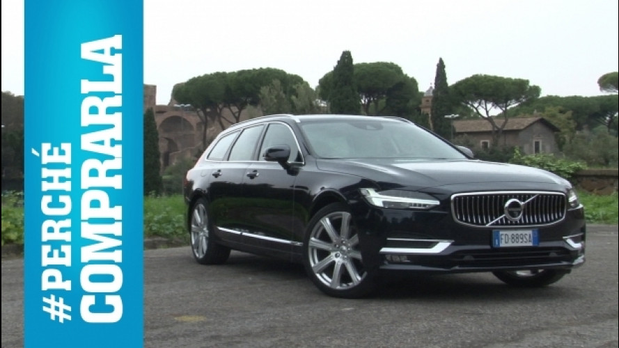Volvo V90, perché comprarla e… perché no [VIDEO]