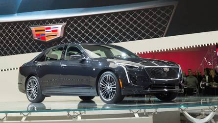 2019 Cadillac CT6 V-Sport Gets New 550-HP Biturbo V8