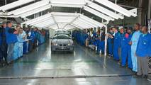 Last BMW 3 Series Sedan built at Rosslyn factory in South Africa