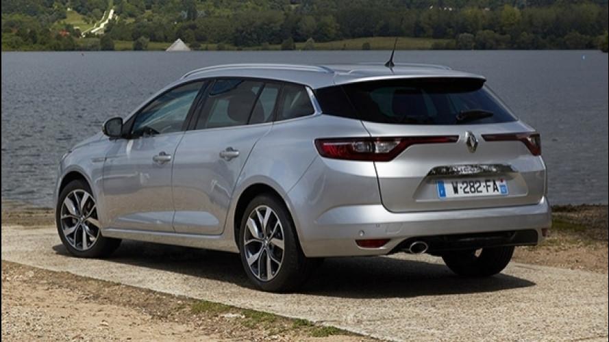 Nuova Renault Megane Sporter, prezzi da 19.900 euro