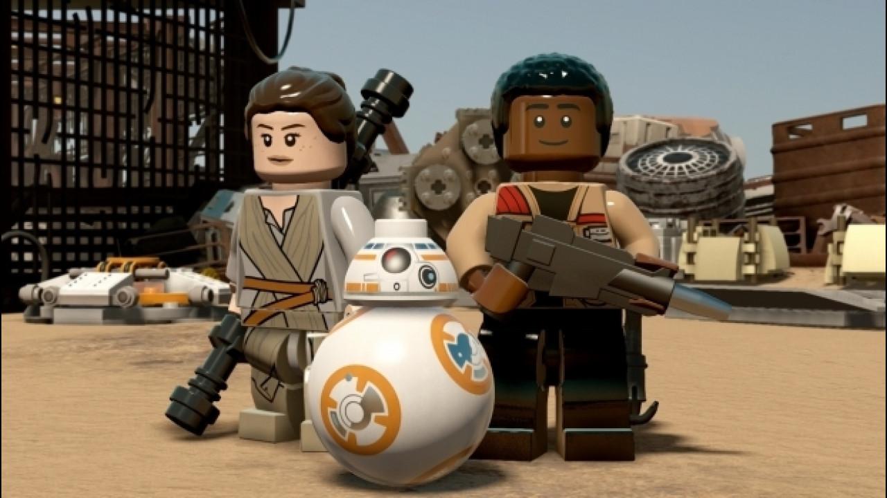 [Copertina] - Lego Star Wars, la Forza si risveglia in mattoncini