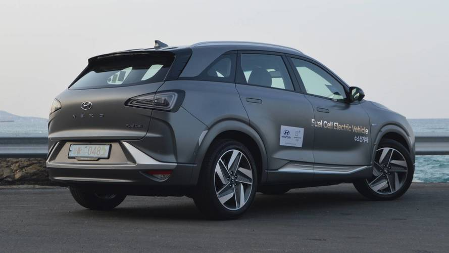 Hidrojenli Hyundai Nexo ve Tucson, rekora koşuyor