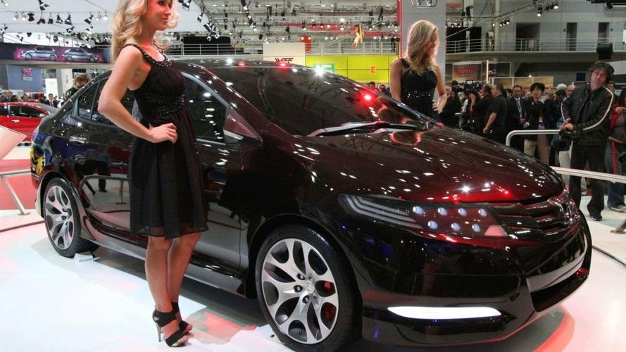 Honda City Concept at Australian Motor Show