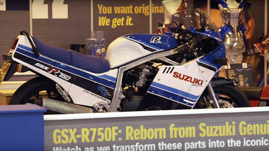 Video of the Day: 1985 Suzuki GSX-R750 Restoration