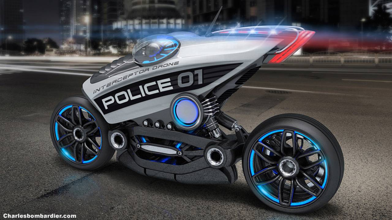 Are Motorcycle Police Drones Coming?