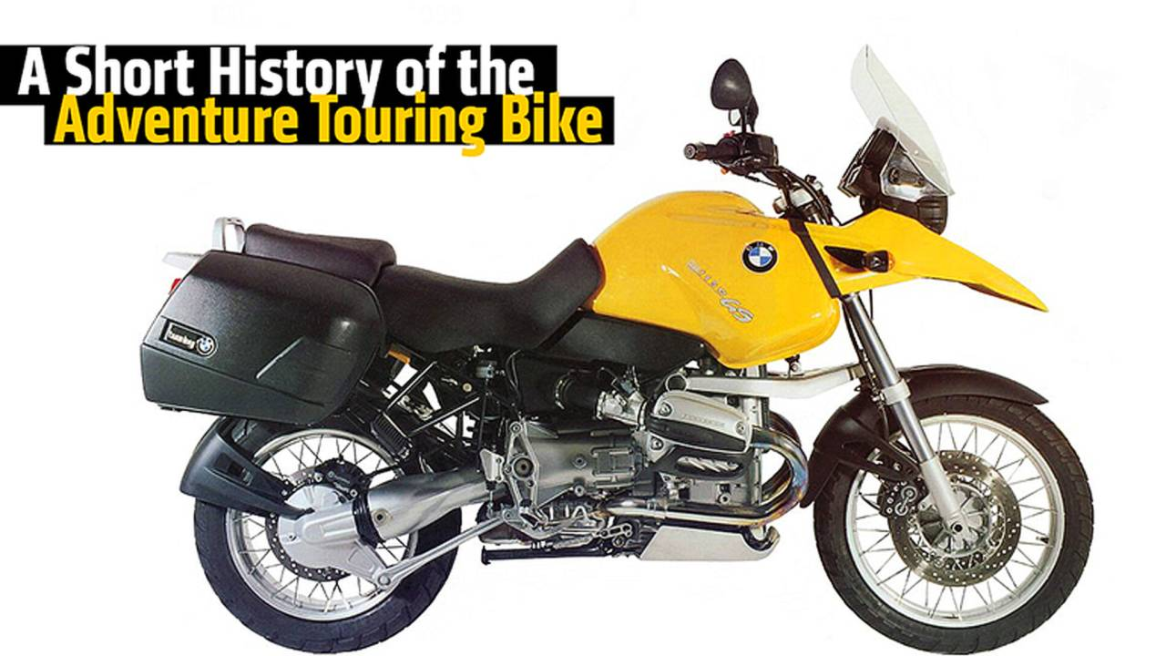 A Short History of the Adventure Touring Bike