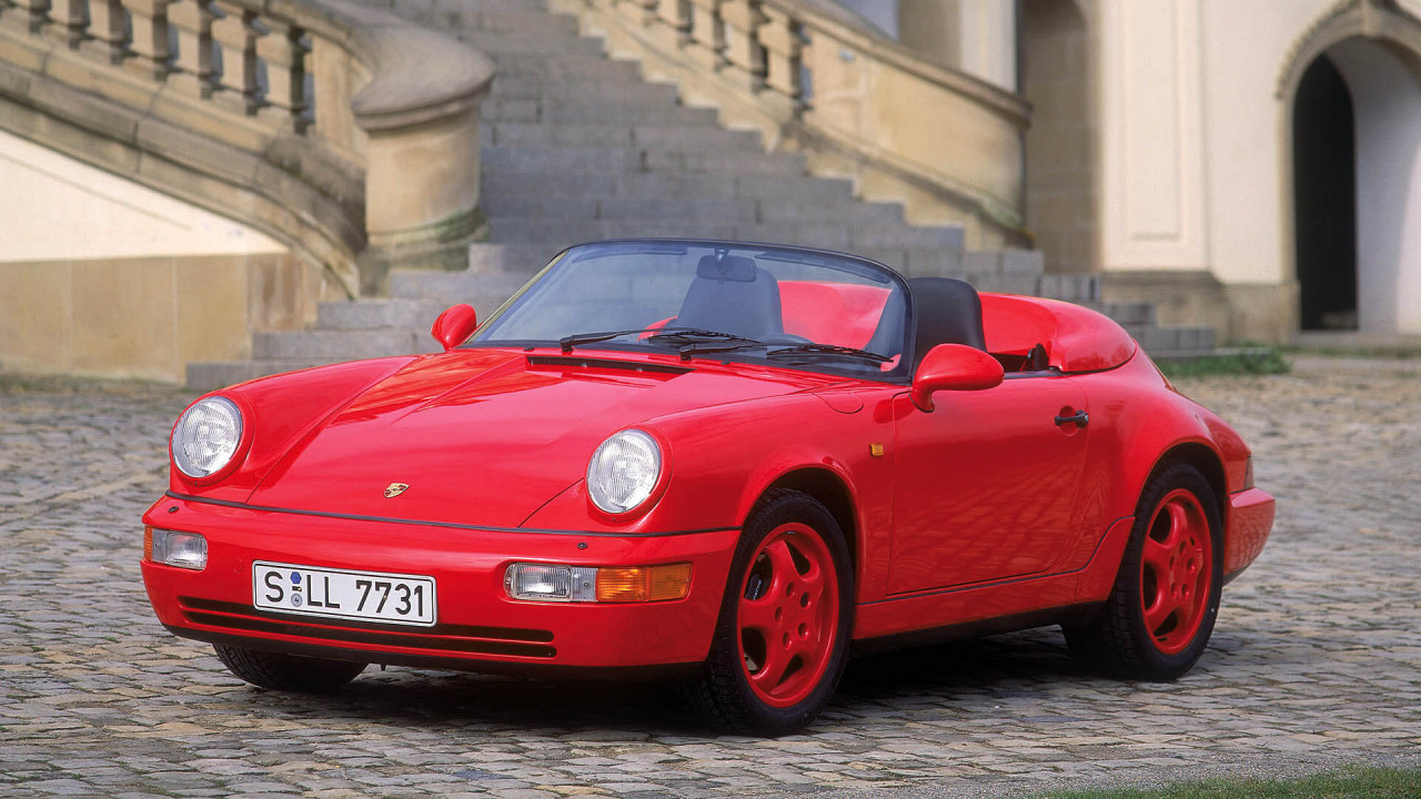 7.- Porsche 911 (964) Speedster: nuevo regreso