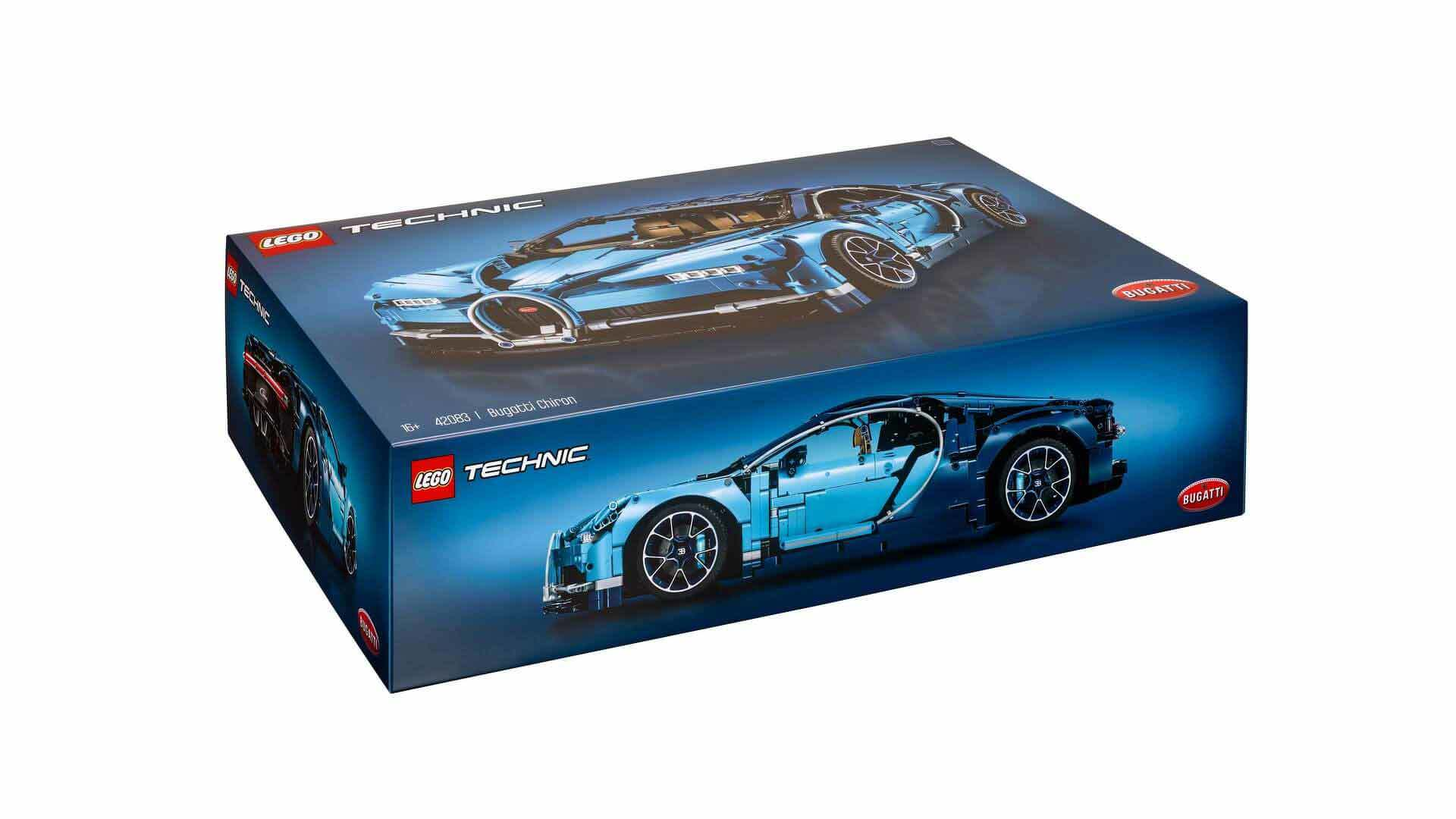 Bugatti chiron gets lego makeover with amazing piece kit