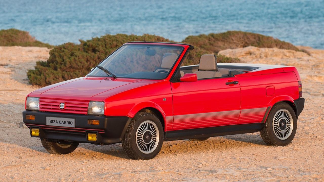 SEAT Ibiza Cabrio - 1989