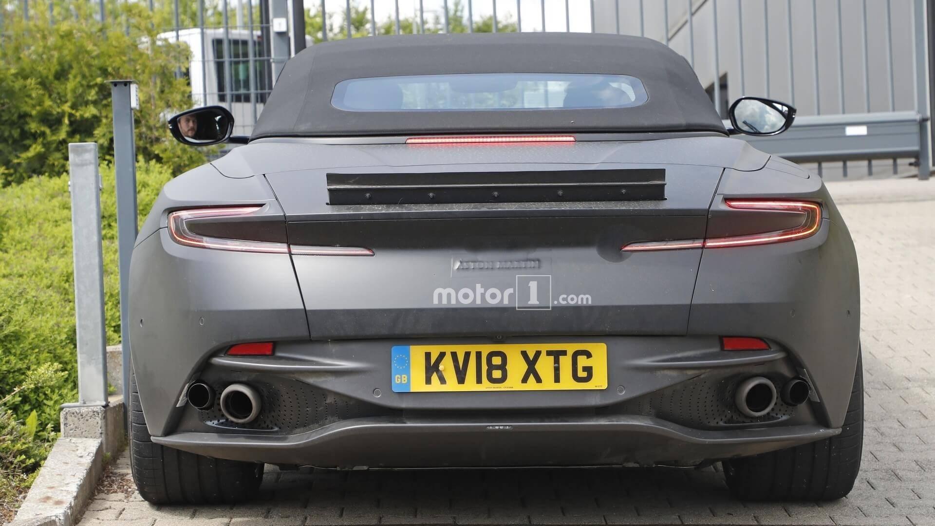 Aston Martin Dbs Superleggera Volante Spied Update