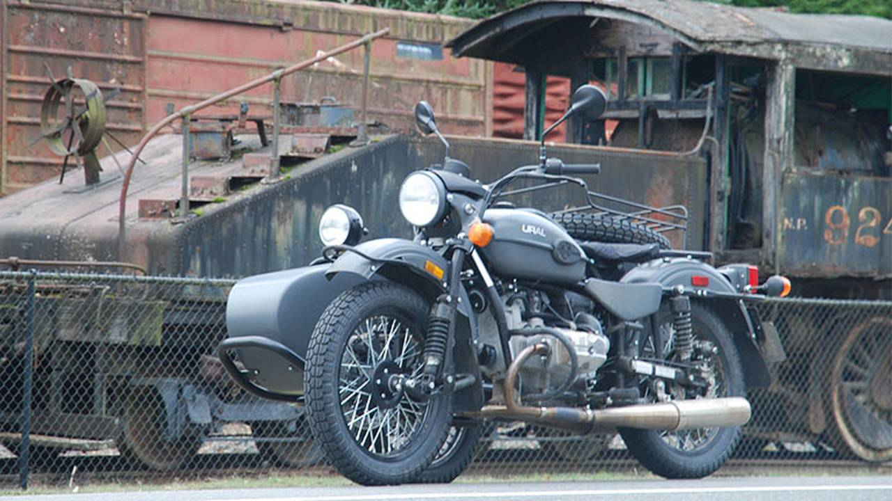 2014 Ural Gear-Up Sidecar (3/4 front)