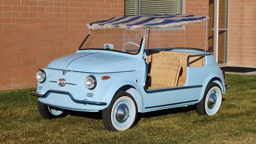 Fiat 500 spiaggina, ecco com'era l'originale