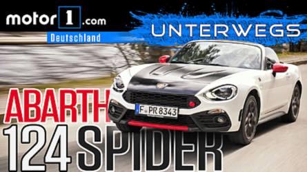 Der bessere MX-5? Abarth 124 Spider   UNTERWEGS mit Daniel Hohmeyer
