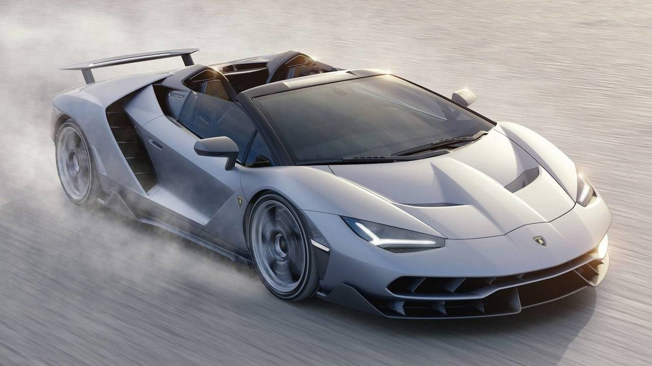 7. Lamborghini Centenario Roadster 2018 - 770 CV