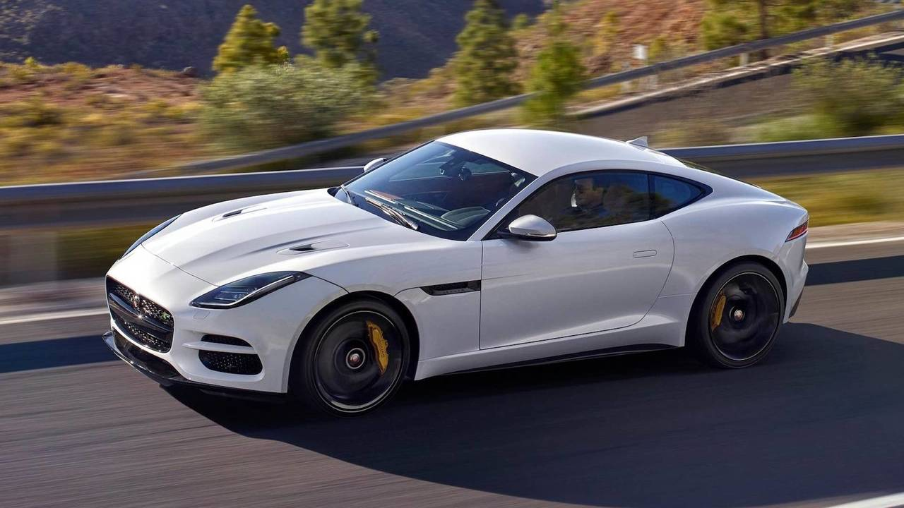 2. Jaguar F-TYPE Coupé 2018 - 65.700 euros