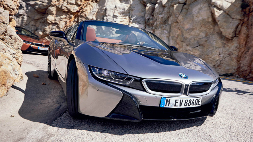 BMW i8 Roadster: İlk Sürüş