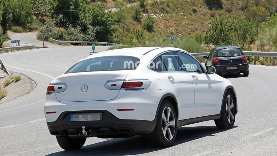 2019 Mercedes-Benz GLC Coupe spy photos