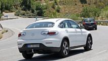 2019 Mercedes-Benz GLC Coupe spy photos