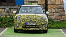 Mini Cooper E Spy Shots
