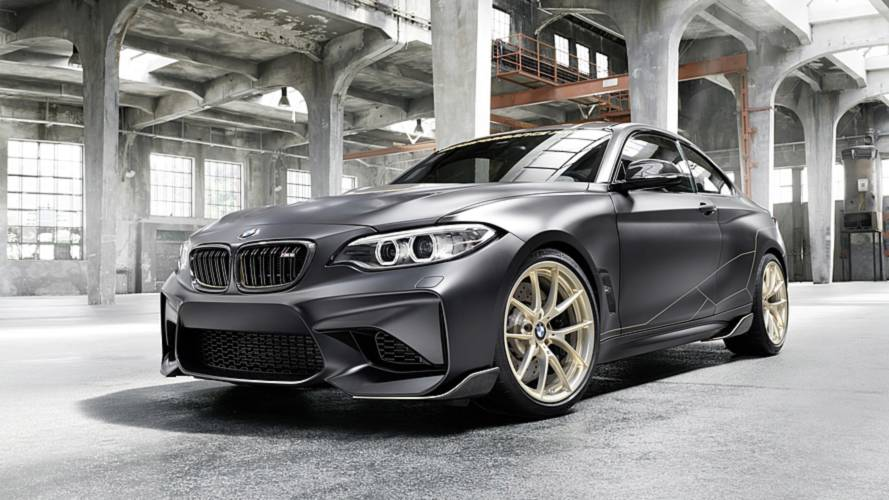 BMW M2 Performance Parts Concept loses weight at Goodwood FoS