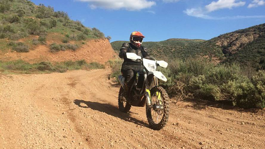 A Sophisticated Midlife Crisis Aboard the Husqvarna FE 450 — Family Dirt Day
