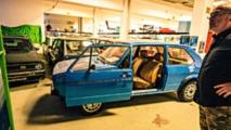Concept car con puertas deslizantes