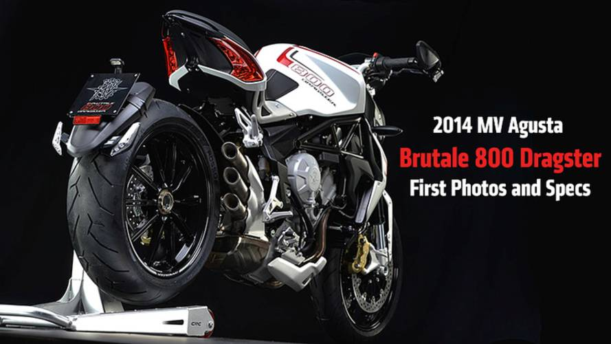 2014 MV Agusta Brutale 800 Dragster - First Official Photos and Specs