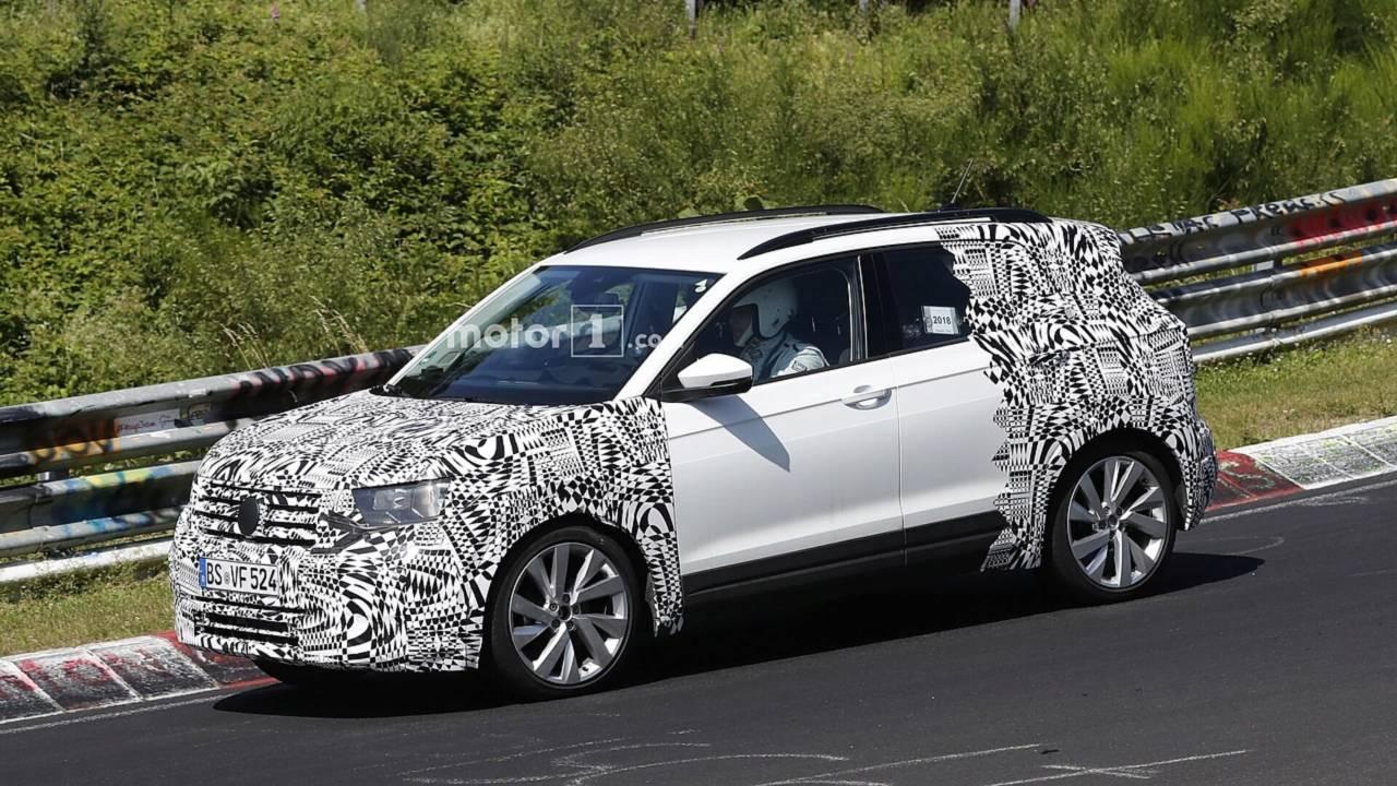 Volkswagen T-Cross 2019 - Novos flagras