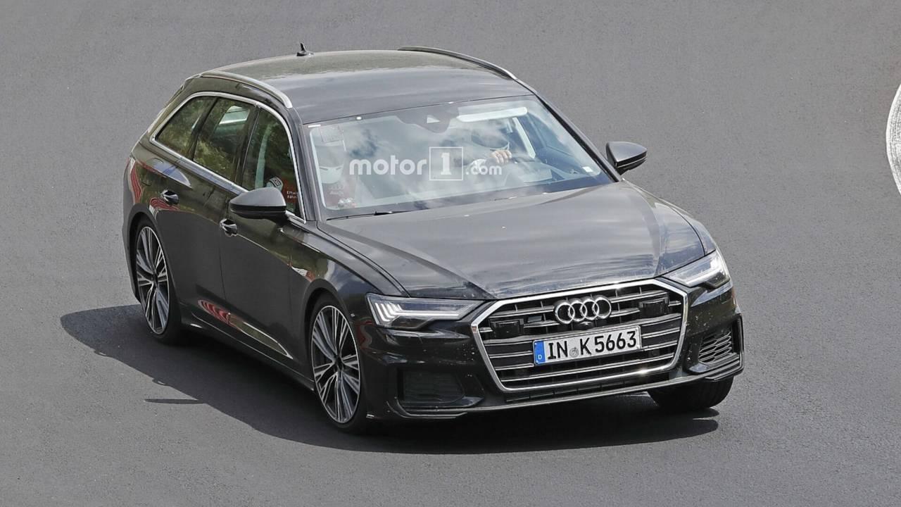 2018 Audi S6 Avant spy photo