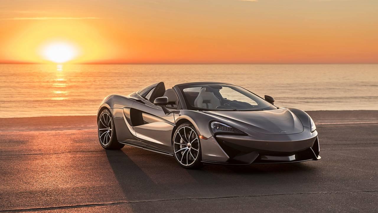 McLaren 570S Spider fondation Elton John AIDS