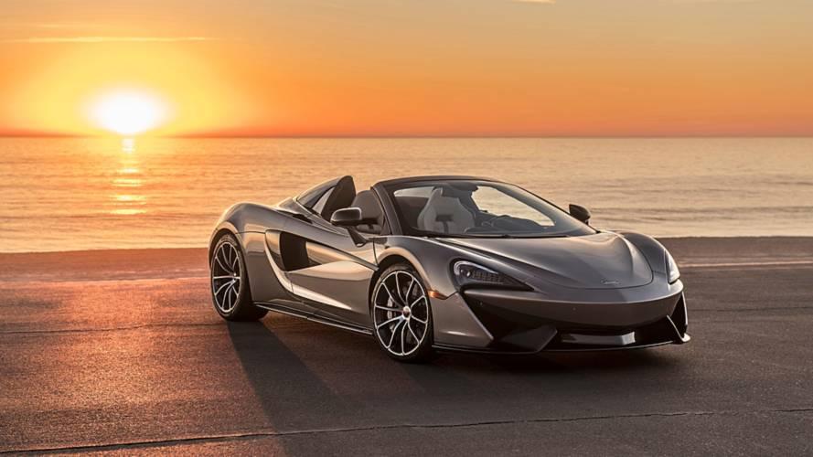 Une McLaren 570S Spider vendue plus de 800'000 euros pour la bonne cause