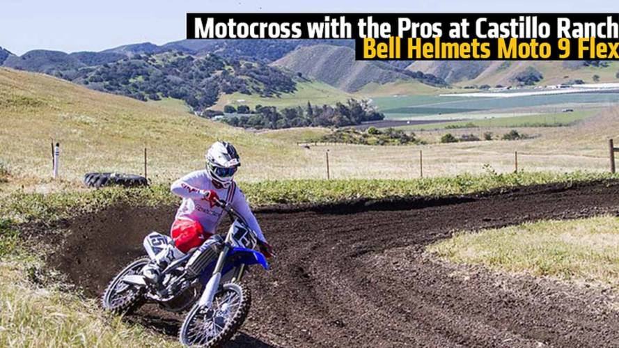 Motocross with the Pros at Castillo Ranch, Bell Helmets Moto 9 Flex