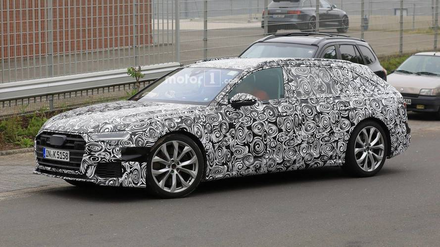 Audi S6 Avant new spy photos