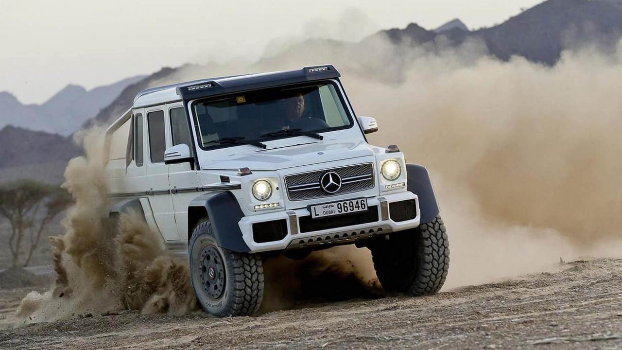 Mercedes-AMG G 63 6x6 – 451.010 Euro