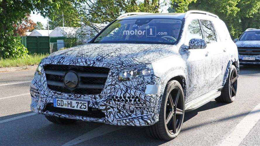 2020 Mercedes GLS photos espions
