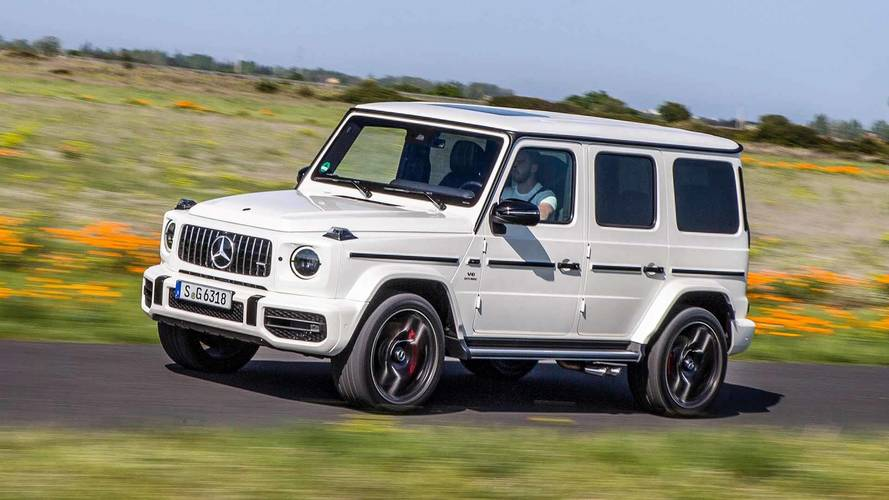 See The New Mercedes-AMG G63 Accelerate To 152 MPH