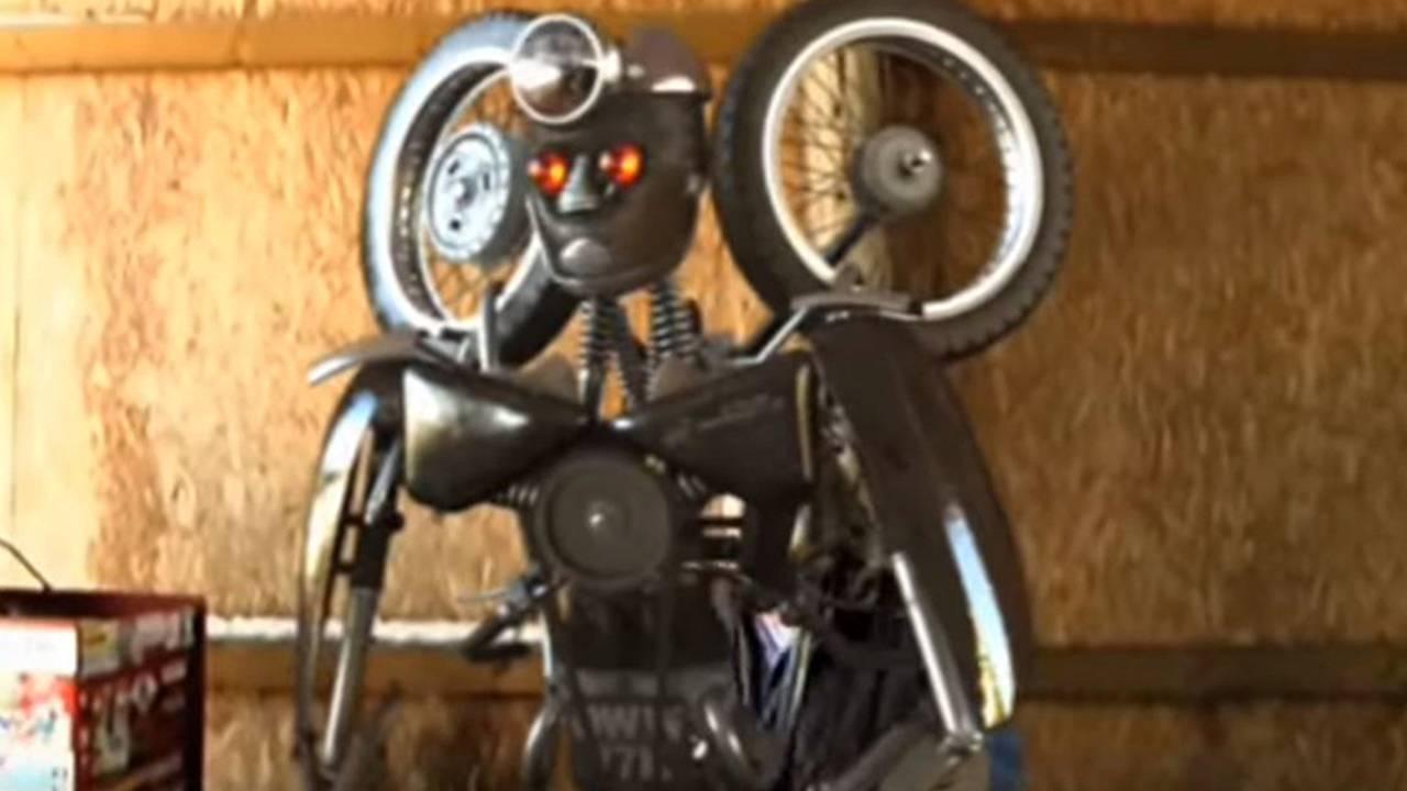 Norton Motorcycle Transformer - Video