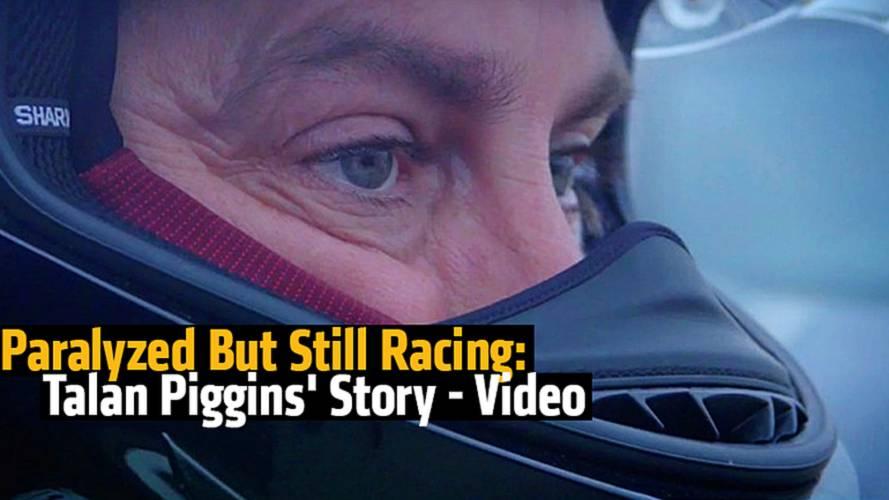 Paralyzed But Still Racing: Talan Piggins' Story - Video