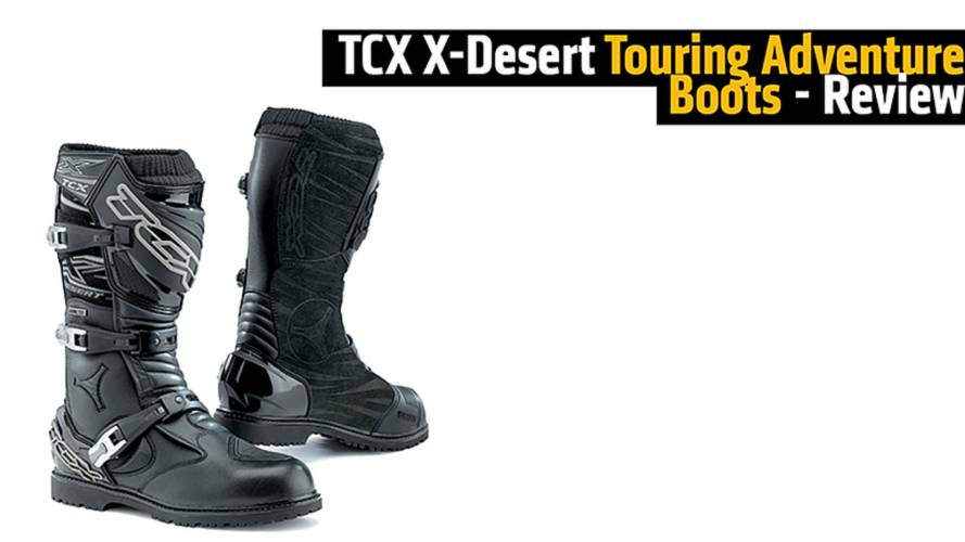 TCX X-Desert Touring Adventure Boots - Review