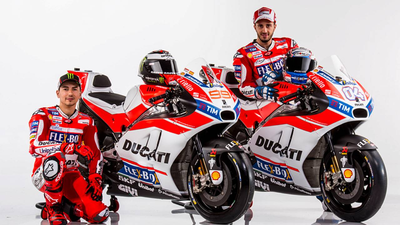 Ducati Presents 2017 MotoGP Team