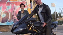 video artist uses yamaha r6 as musical instrument