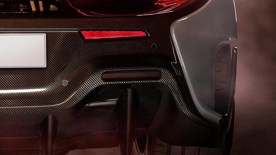 McLaren 570LT teaser image (name not confirmed)