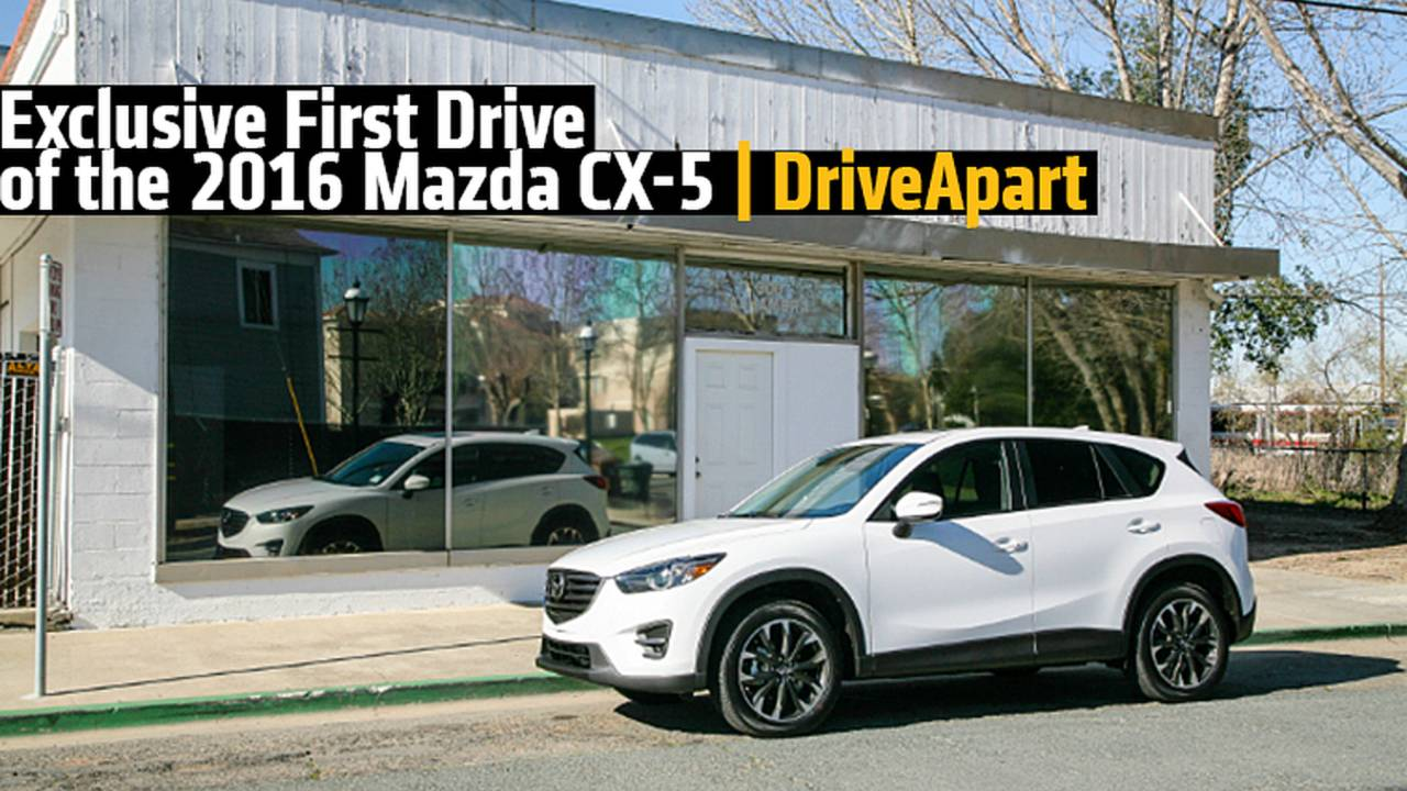 Exclusive First Drive: 2016 Mazda CX-5